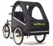 Vores Bella 2 standard ladcykel kan også monteres med elmotor