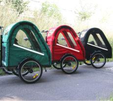 Smart farvet kabine til vores Bella 2 standardcykler