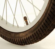 Solide standarddæk som er montoeret på vores ladcykler med mindre andet er bestilt.