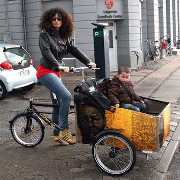 endnu en ladcykel fra bellabike