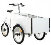 Vores Bella 4 ladcykel fås nu også i hvid