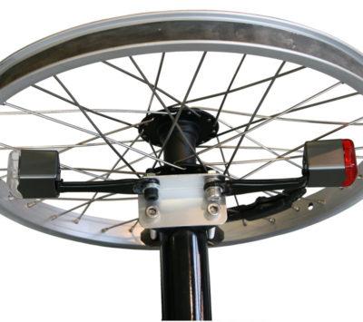 Beslag til LED magnet cykellygtesaet