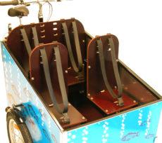 Samlet pakke med 4 sæder til din Bellabike ladcykel