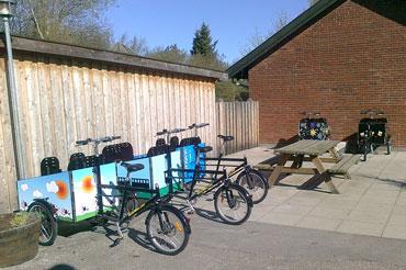 Børnehaven i Gilleleje er meget glade for deres Bellabike ladcykler