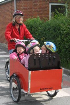 Bella4 har plads til 4 børn på samme tid