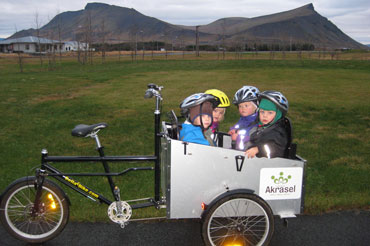 Bellabikes ladcykler fragter små børn alle vegne