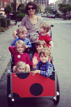 Når man skal have mange børn med, så kan man altid regne med bellabike