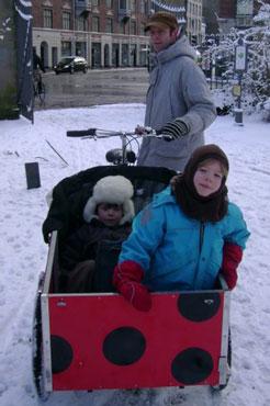Mariehøne ladcykel som Kim fra Vesterbro elsker