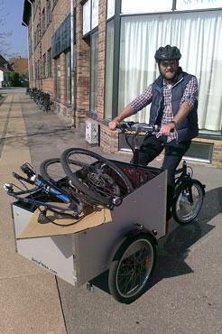 Morten kan have en helt anden cykel i sin egen ladcykel
